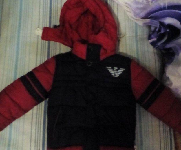 Детская зимняя куртка. Фото 1. Владивосток.