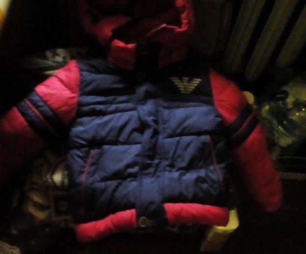 Детская зимняя куртка. Фото 2. Владивосток.