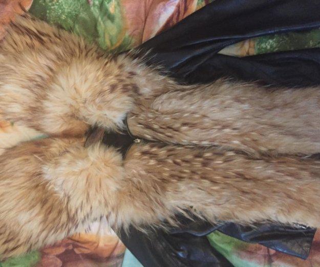 Кожаная куртка с мехом. Фото 3. Кемерово.