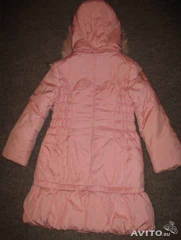 Пальто для девочки зима. Фото 2. Москва.