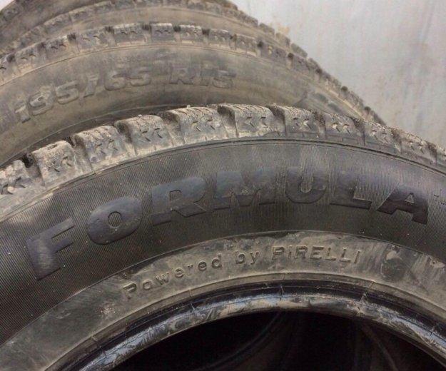 Зимние шины 195/65/15 pirelli formula. Фото 1. Ачинск.