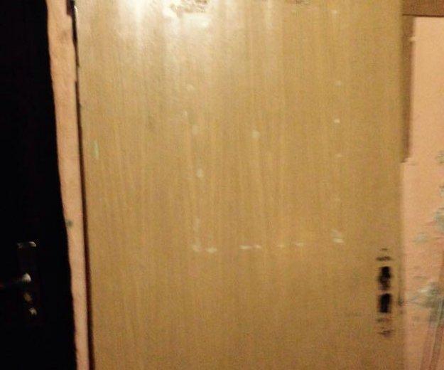 Дверь дубовая б/у. Фото 2. Санкт-Петербург.