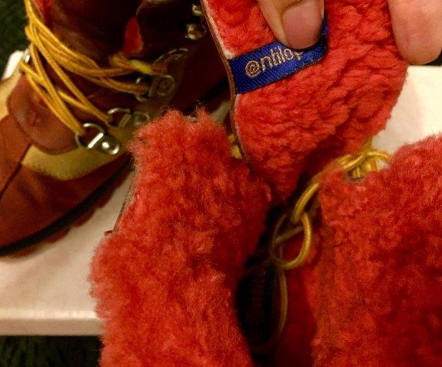 """""""антилопа"""" зимние детские ботинки. Фото 3. Кемерово."""