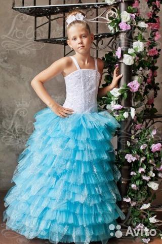 Пышное и нарядное платье!. Фото 1. Сургут.