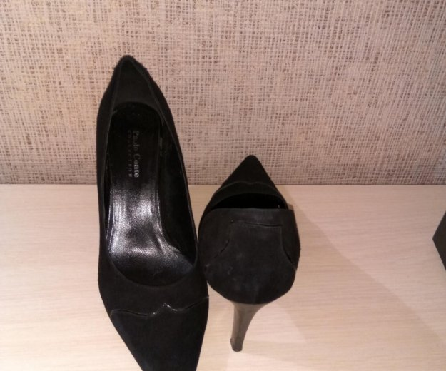 Туфли замшевые palo conte. Фото 2. Барнаул.