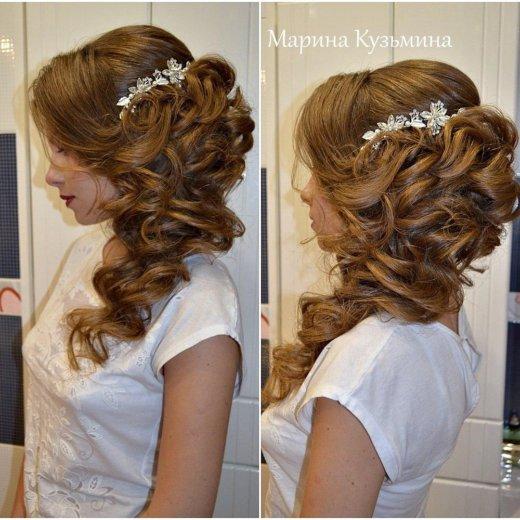 Прически свадебные, вечерние. макияж. плетение кос. Фото 3. Омск.