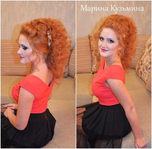Прически свадебные, вечерние. макияж. плетение кос. Фото 4. Омск.