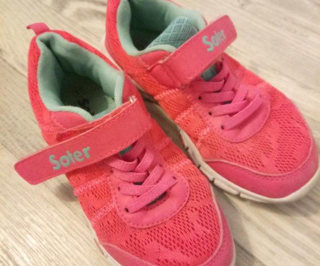 Кроссовки для девочки 30- 31 размер. Фото 1. Новосибирск.