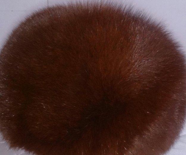 Шапка из меха песца, новосибирская, очень теплая. Фото 2.