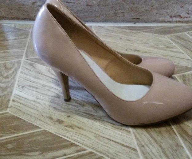 Бежевые туфли,39 размер. Фото 1. Уфа.