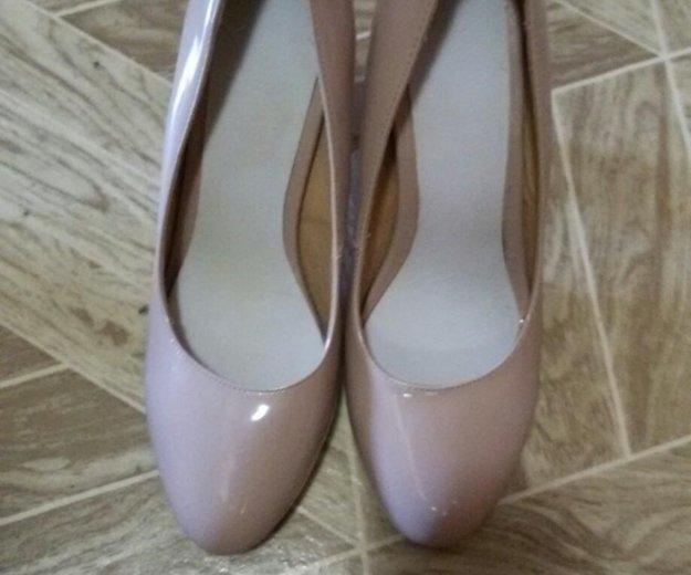 Бежевые туфли,39 размер. Фото 2. Уфа.