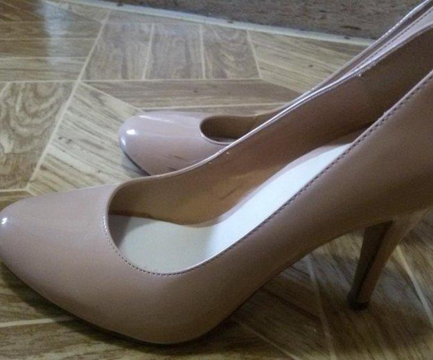 Бежевые туфли,39 размер. Фото 3. Уфа.