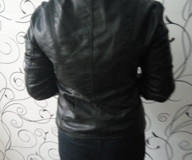Куртка кожаная. Фото 1. Новосибирск.