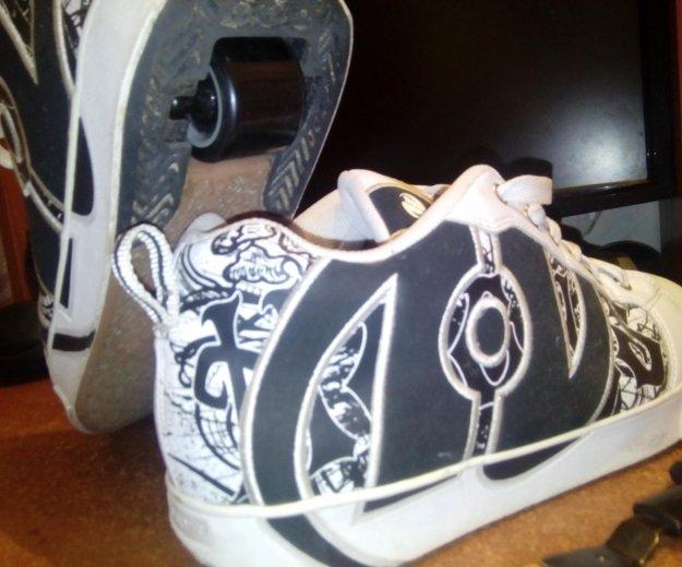 Кроссовки heelys продам или обменяю. Фото 1. Улан-Удэ.