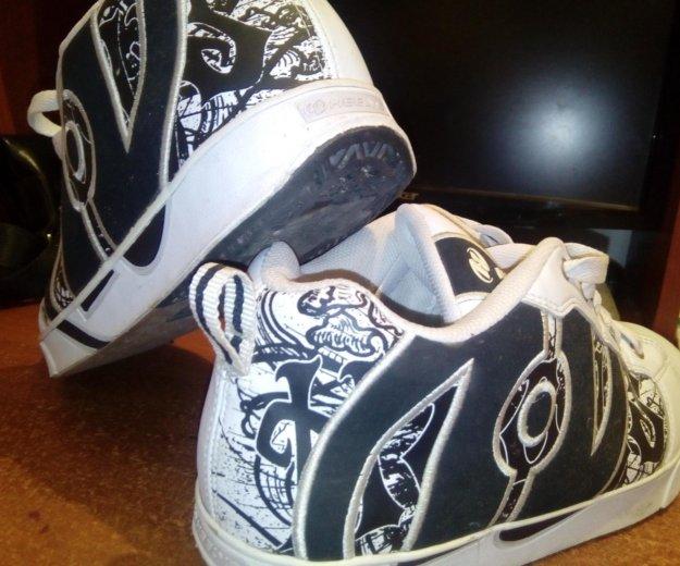 Кроссовки heelys продам или обменяю. Фото 2. Улан-Удэ.