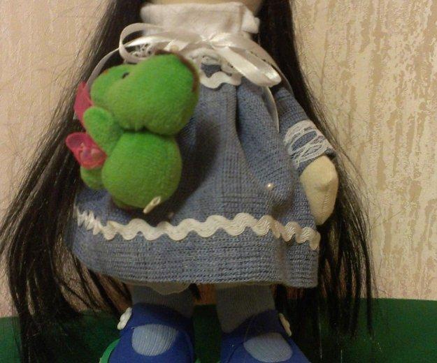Куколка ручной работы 27 см. Фото 1. Дзержинск.