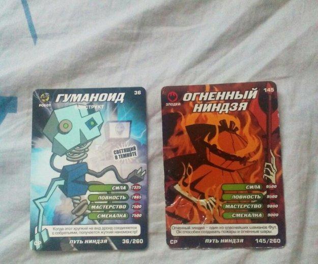 """Коллекционные карточки """"черепашки ниндзя"""". Фото 3. Омск."""