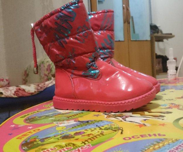 Продам сапожки демисезон. Фото 1. Комсомольск-на-Амуре.