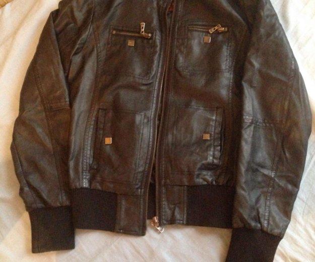 Кожаная куртка. Фото 2. Уфа.