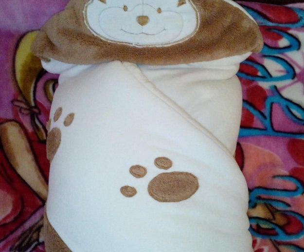 Одеяло- конверт на выписку. Фото 3. Тюмень.