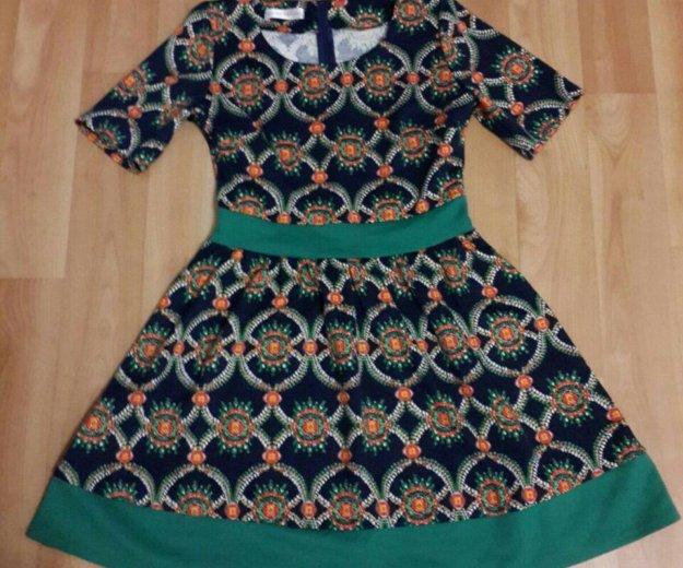 Платье сине-зелёное. Фото 1. Новосибирск.