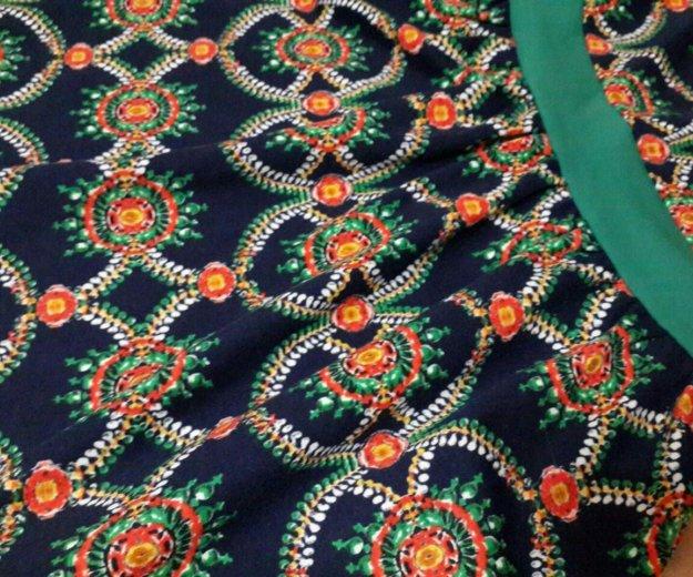 Платье сине-зелёное. Фото 2. Новосибирск.