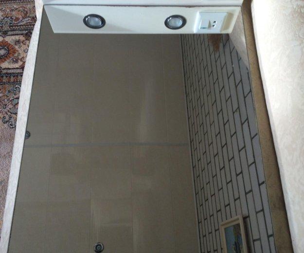 Полка зеркальная  с подсветкой для ванной комнаты. Фото 1. Пенза.