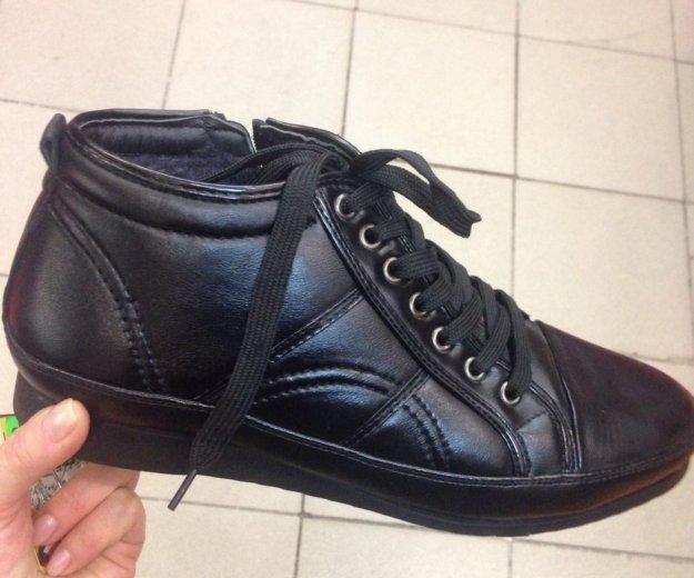 Продам  ботинки новые. Фото 1. Красноярск.
