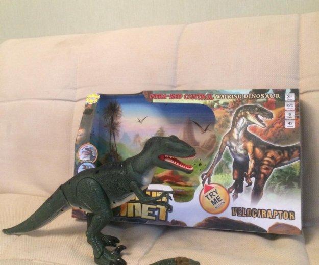 Динозавр. Фото 1. Железнодорожный.