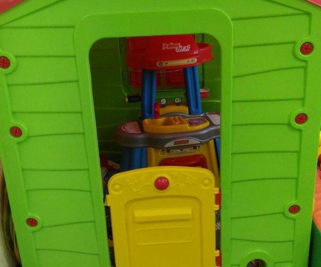 Пластиковый домик. Фото 1. Волжский.