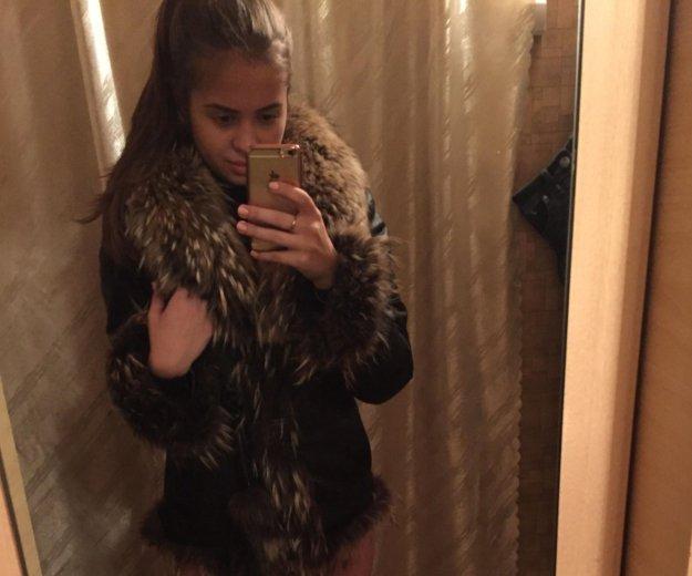 Зимняя кожаная куртка. Фото 1.
