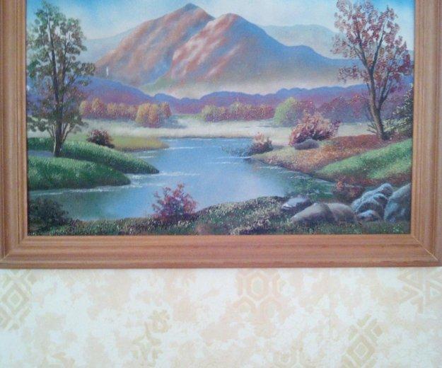 Картина из цветного песка. Фото 1. Красноярск.