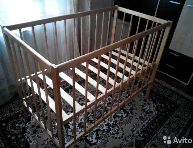 """Продам детскую кроватку""""фея"""".. Фото 1. Кемерово."""