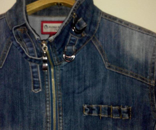 Джинсовая куртка. Фото 1. Омск.