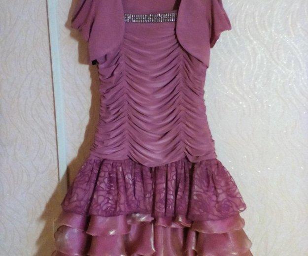 Платье с болеро на 9-10 лет. Фото 1. Энгельс.