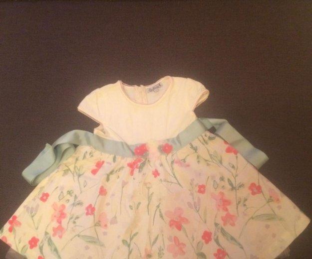 Платье gulliver, рост 74. Фото 1. Москва.