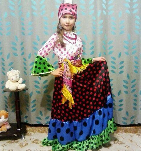 Продам новогодний костюм цыганка. Фото 1. Владивосток.