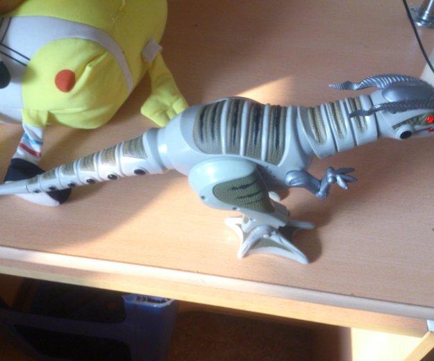 Динозавр на батарейках,ходит и рычит. Фото 2. Хабаровск.