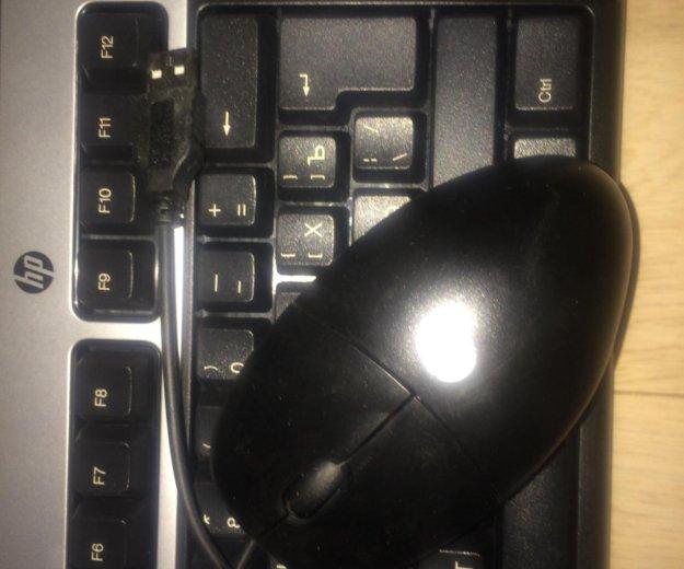 Клавиатура и мышка hp. Фото 1.