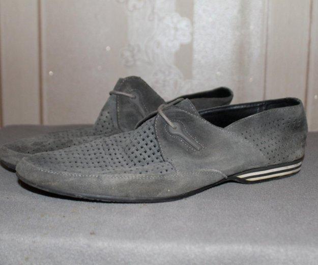 Замшевые туфли. Фото 1. Уфа.