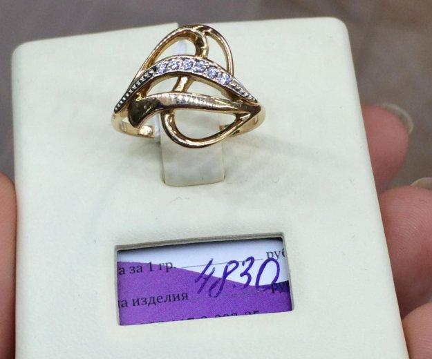 Кольцо золото 585 фианиты. Фото 1. Красноярск.