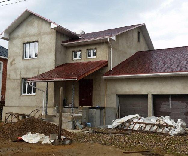 Строим дома из теплых блоков псфб. Фото 4.