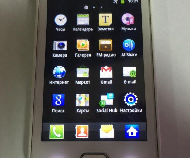 Samsung  galaxy gt-s5660. Фото 3.