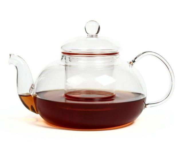 "Чайник из жаропрочного стекла ""смородина"". Фото 1. Самара."