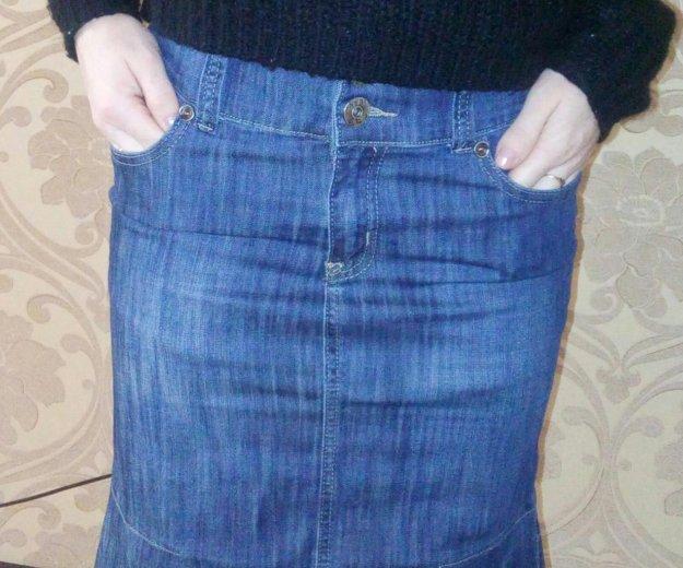 Юбка джинсовая. Фото 1. Тюмень.