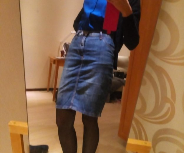 Юбка джинсовая глория джинс. Фото 3. Сургут.