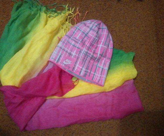 Шапка и шарф. Фото 1. Алапаевск.