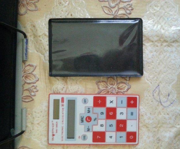 Сенсорный калькулятор + чехол. Фото 3. Москва.