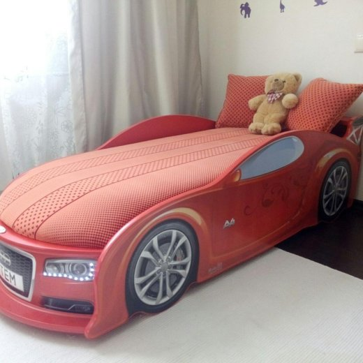 Кровать машина в наличии!. Фото 2. Москва.