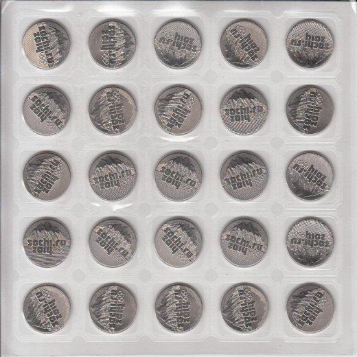Монеты олимпиада сочи (4 листа). Фото 2. Иркутск.